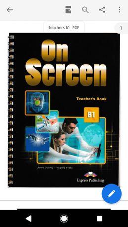On screen b1 teacher's(Ответы) , students, work, cd. pdf ЕЛЕКТРОННІ