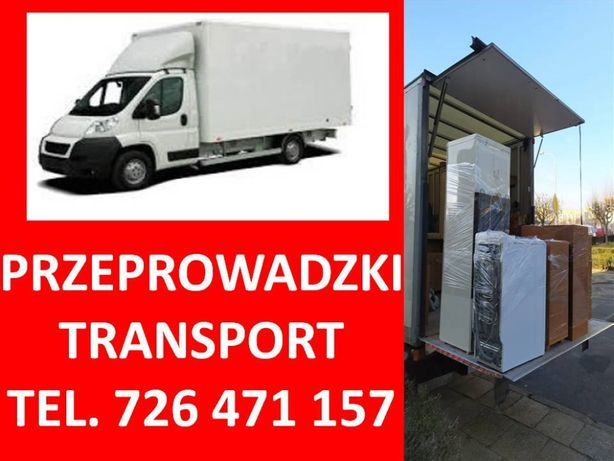 Przeprowadzki-transport-wywóz starych mebli auta z windą -24/7 Tanio