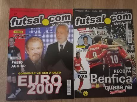 Revistas de futebol e futsal
