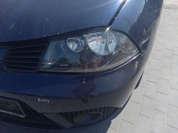 Lampa lewa Seat Ibiza 6L 3 drzwi