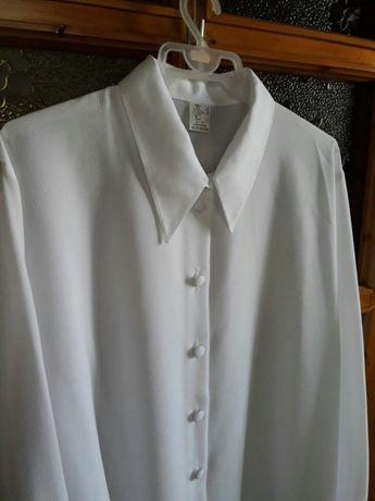Bluzka elegancka XL damska długi rękaw Nowa