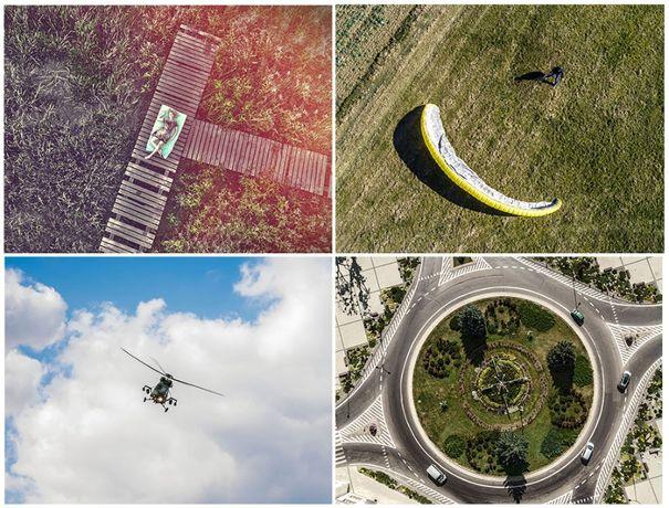 Dron - zdjęcia z powietrza. Pełne uprawnienia i ubezpieczenie.