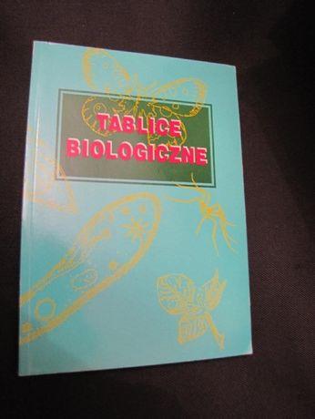 """książka """"Tablice biologiczne"""""""