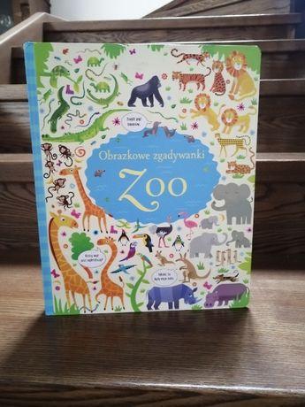 Ksiązka Obrazkowe zgadywanki Zoo