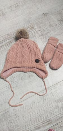 Шапочка  і рукавички H&M