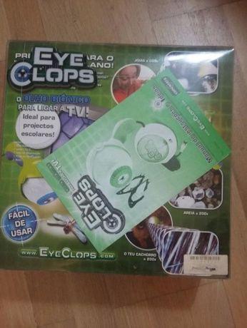 Eye Clops, o Olho biónico. permite ligação a TV