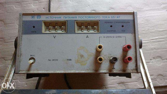 источник питания постоянного тока Б 5-47