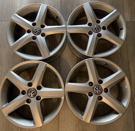 "Felgi aluminiowe VW oryginalne 16"" 5x112"