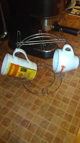 Держатель стойка подвеска кронштейн для чашек тримач чашок посуды