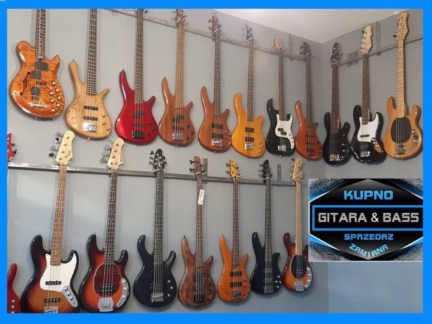 """""""Gitara & Bass""""-Gitary-Basy-Piece-kable-Sprzedaż-Skup-Zamiana- wysyłka"""