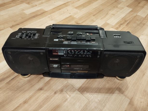 Radiomagnetofon Sharp WA-T238h(bk)