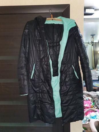 Зимняя, осенняя куртка-пальто (курточка) для беремннных