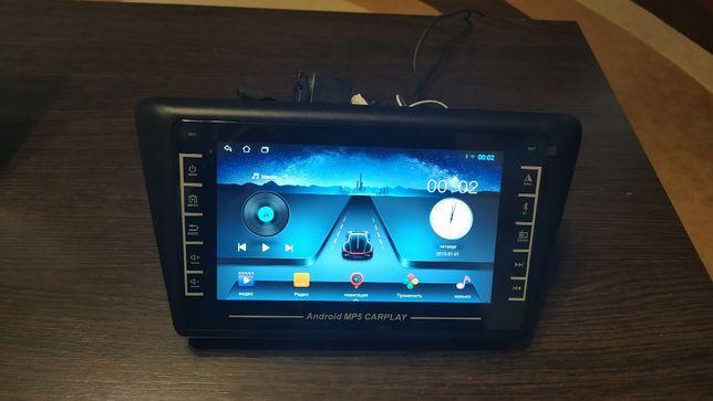 Магнитола Skoda Rapid Шкода Рапид Магнитофон Android Навигация