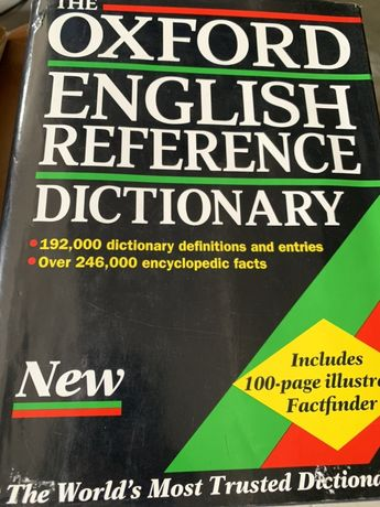 English Reference Dictionary - Oxford