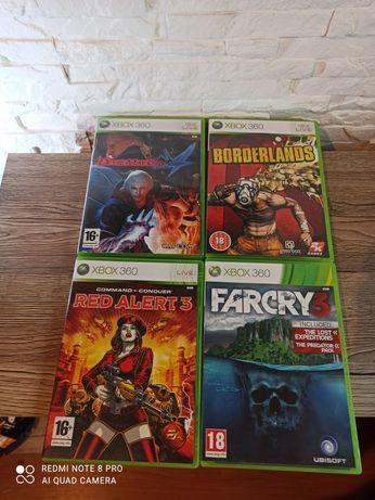 4 gry Xbox 360 .
