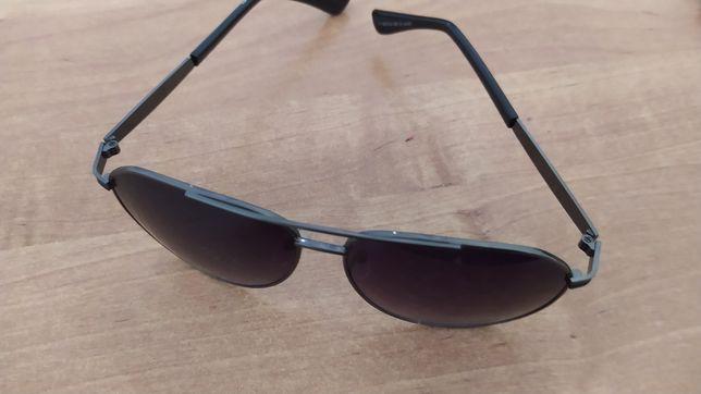 Okulary przeciwsłoneczne pilotki czarne