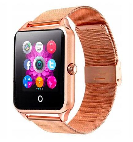 Ekskluzywny, Elegancki Smartwatch z SIM i 34 funkcjami, model 2020 HIT