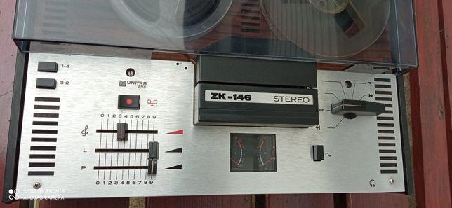 Magnetofon szpulowy ZK 146 STEREO