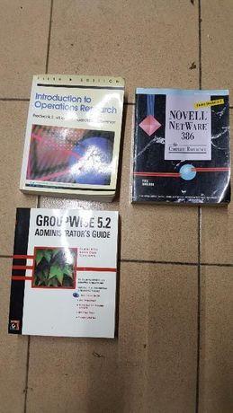 Livros Técnicos antigos - Informática