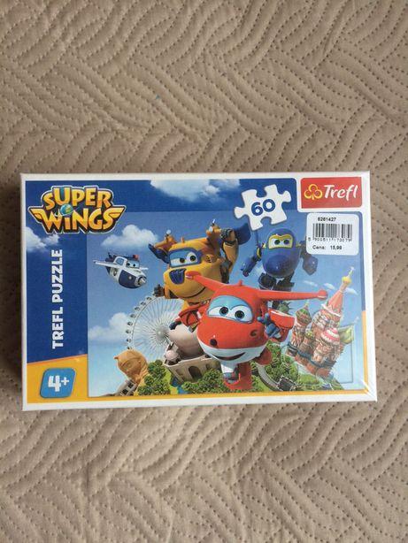 Puzzle Super Wings nowe firmy Trefl.