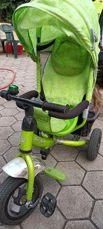 Детский трёхколёсный велосипед azimut trike