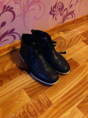 ботинки кожаные Сarlo Pazolini 40-41 р. +подарки