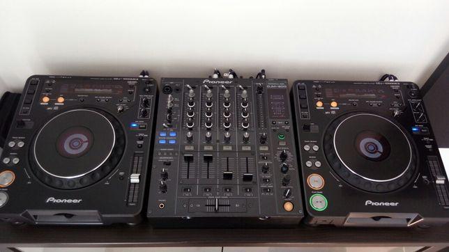 Pionner CDJ 1000 MK3 + DJM 800 ideał