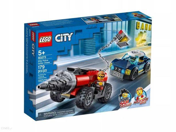 Nowe Lego 60273 City Policyjny pościg za wiertnicą