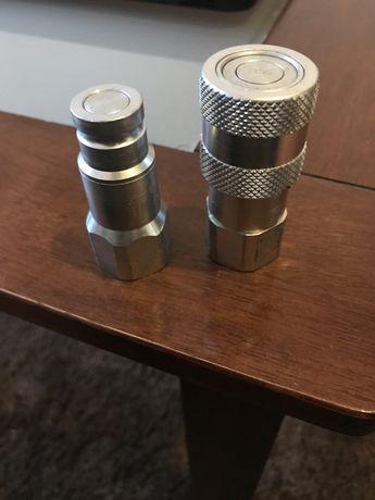 Szybkozłącze hydrauliczne suchoodcinające1/2 i 3/8, gwint wewnętrzny