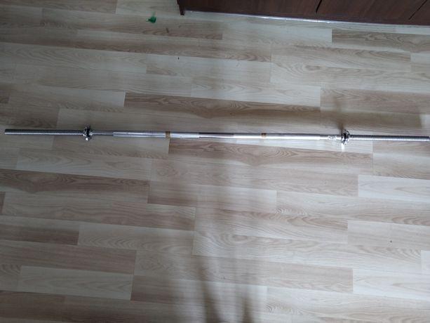 Gryf prosty sztanga 180 cm / 25 mm