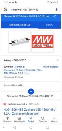 Sterowniki zasilacz LED Mean well HLG-150H-48B