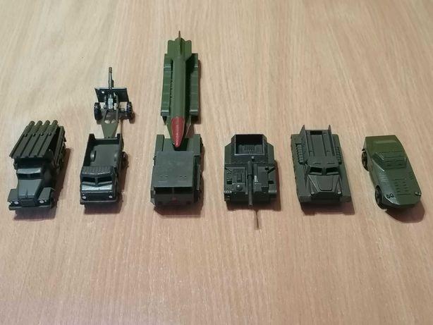 Набор моделей военной техники СССР. Игрушки СССР.