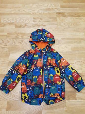 Куртка-вітровка на флісі для хлопчика 3-4 роки