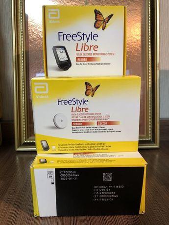 Якісні сенсори FreeStyle Libre 1 Англія оригінал, в наявності, датчики