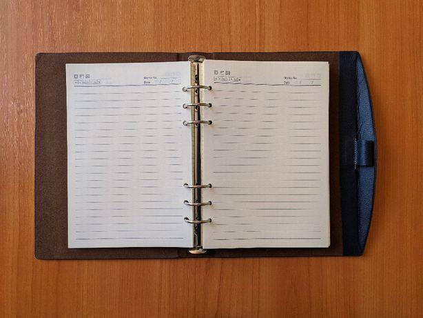 Ежедневник записная книжка блокнот, сьемные листы