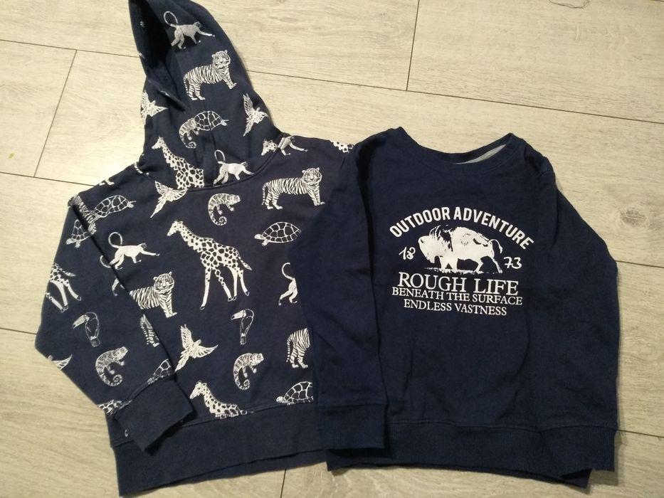 Zestaw bluz dla chłopca rozmiar 98/104 Śrem - image 1