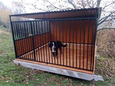 kojec dla psa, schronienie, buda ocieplana, drewutnia i inne