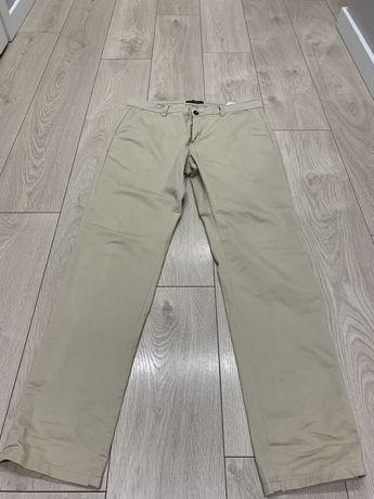 Jasne spodnie Reserved, rozmiar 33