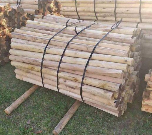 Belki drewniane, kołki, wałki, bale