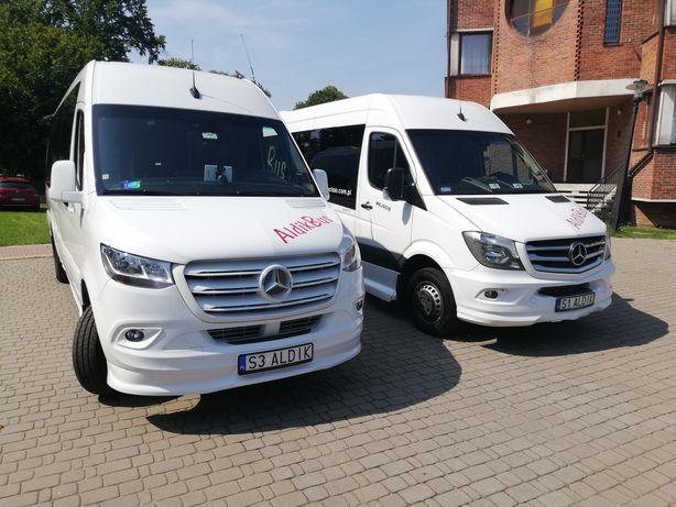 Usługi przewozowe, transport osobowy, przewóz osób, wynajem busa