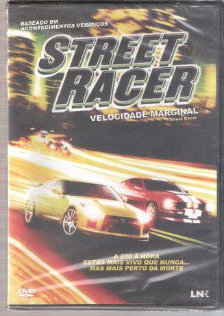 Filme DVD Street Racer Velocidade Marginal