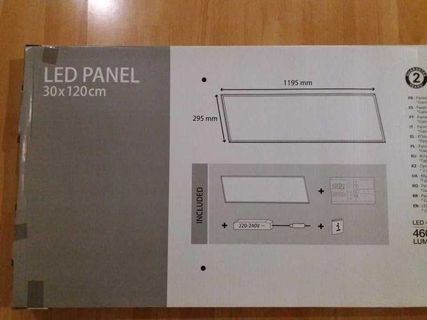 Panel LED 30x120cm 40W lampa plafon oprawa 2 sztuki