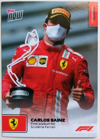 Topps Now F1 Formula 1 2021 Cartas #10 - #14