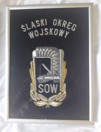 ryngraf haftowany Śląski Okręg Wojskowy A5
