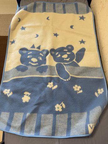 Детское шерстяное одеяло Vladi 140*100
