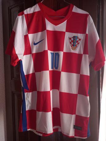 Camisola Modric Croácia Tam. XL