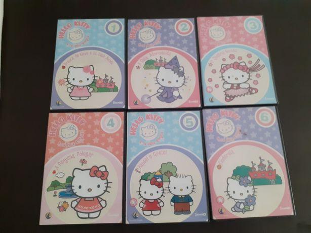 Dvds originais Hello Kitty
