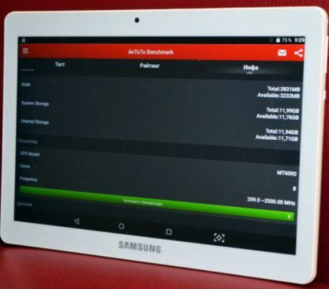 "NEW Samsung Galaxy Tab Экран 10"", 12 ядер, класс полный Спешите"
