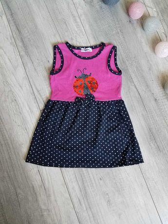 Sukienka roz. 80/86, 86/92, 92/98, 98/104