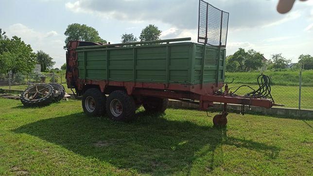 Rozrzutnik obornika Hawe 12 ton